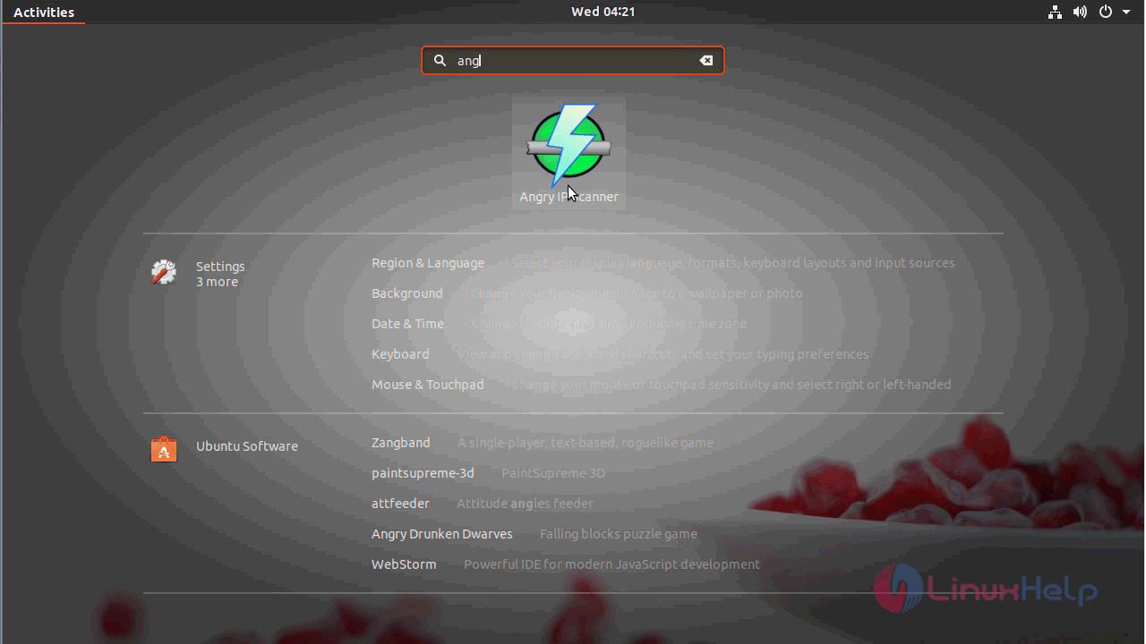 advanced port scanner ubuntu
