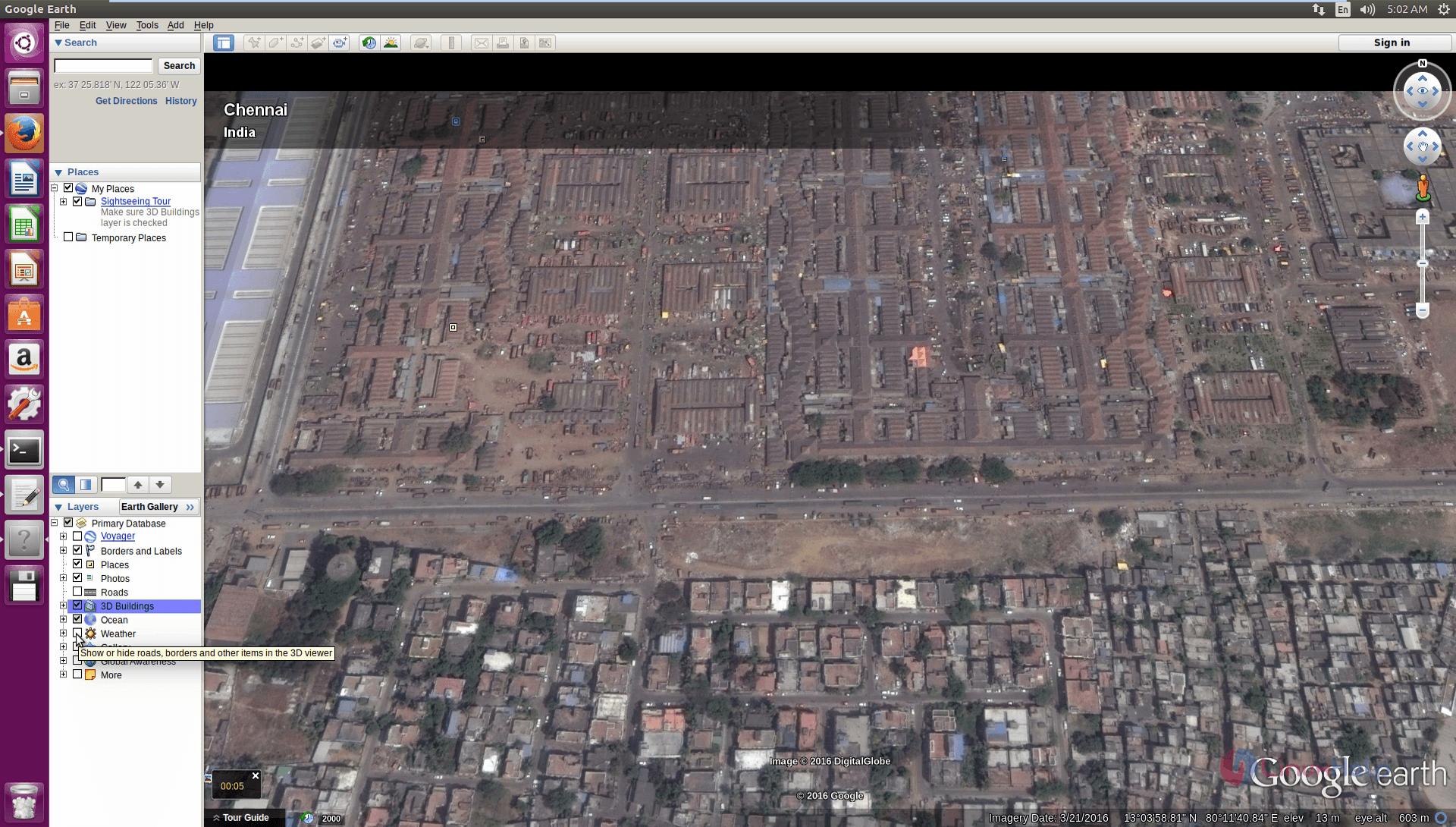 Installation_Google_Earth_Ubuntu16.04_Weather