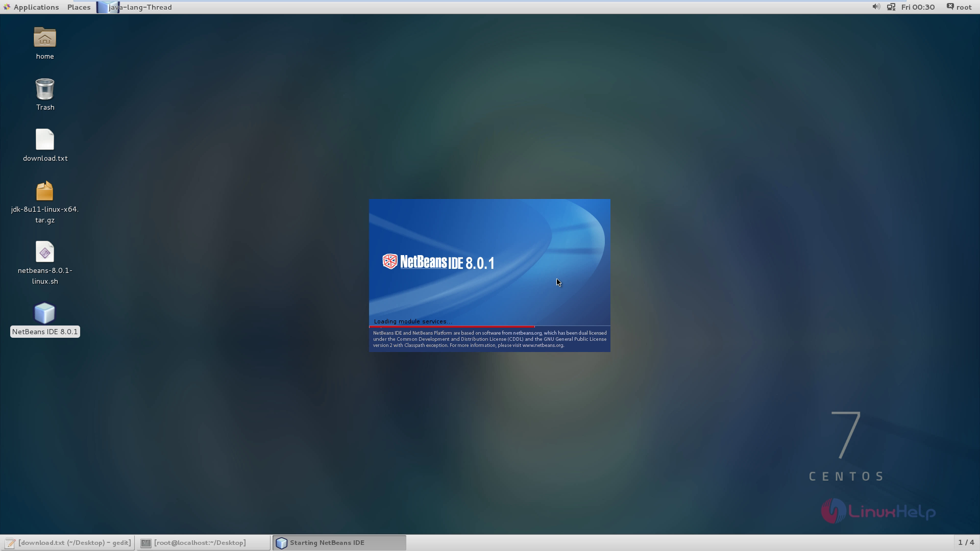 How to install NetBeans IDE in CentOS | LinuxHelp Tutorials
