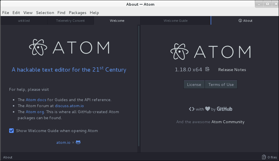 How to install Atom Editor on CentOS 7 | LinuxHelp Tutorials