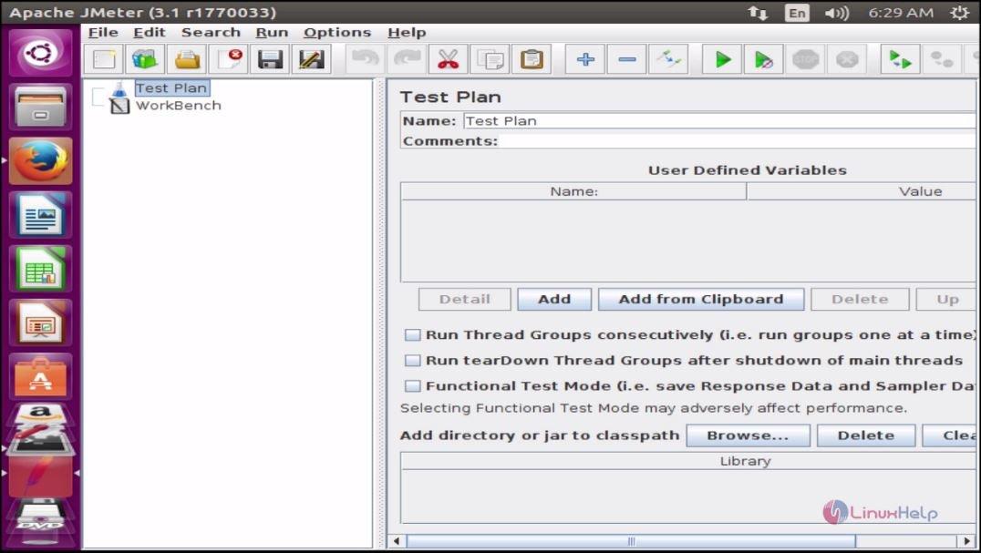 How to install Apache JMeter in Ubuntu 16 04 | LinuxHelp Tutorials