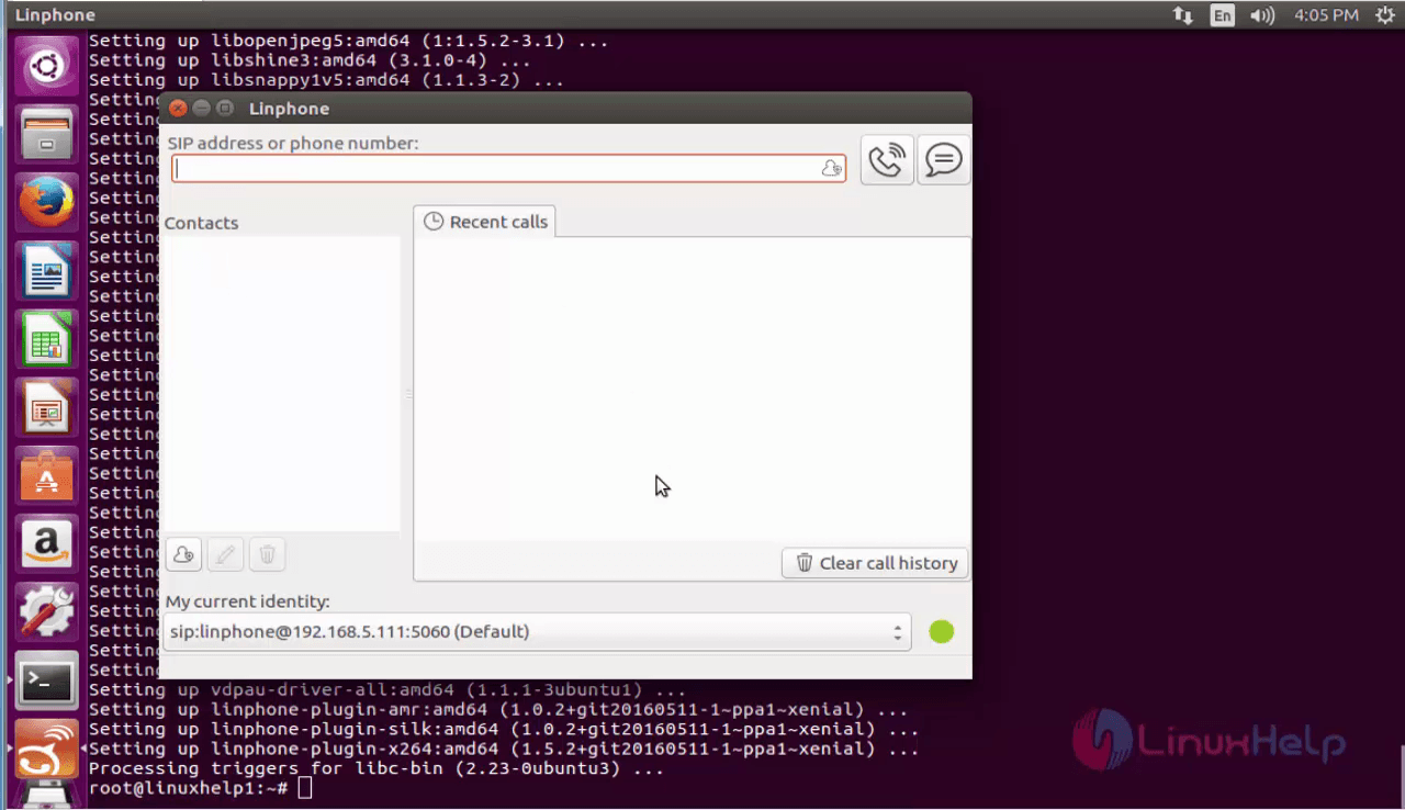 How to Install Linphone in Ubuntu | LinuxHelp Tutorials