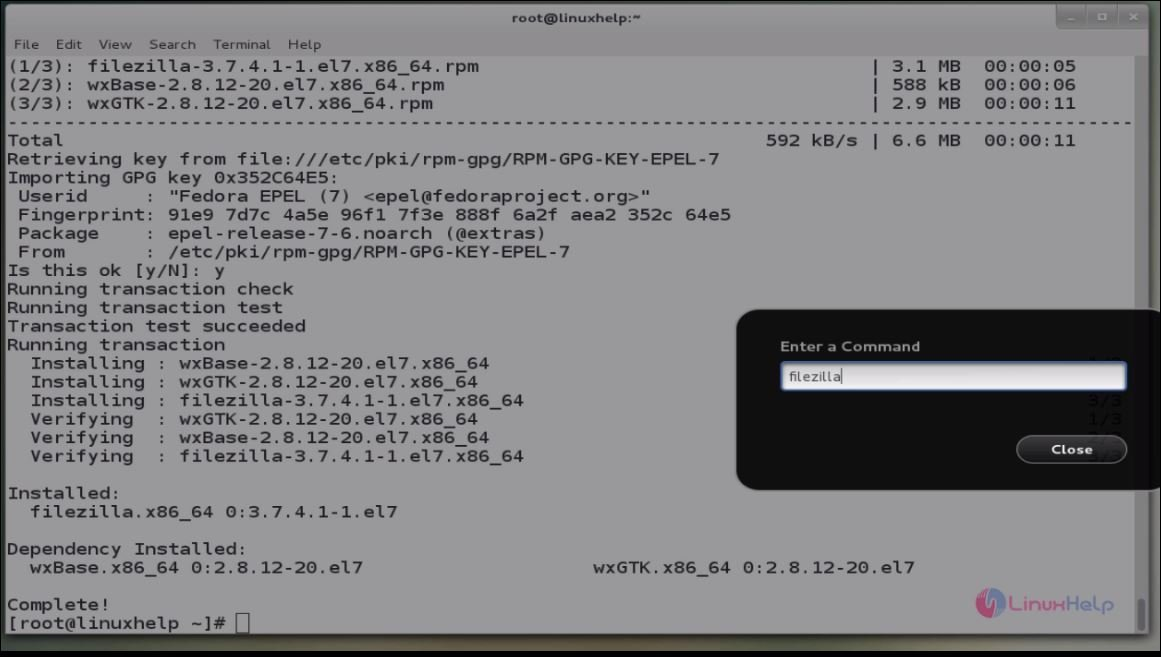 How to install, configure and access FTP server via