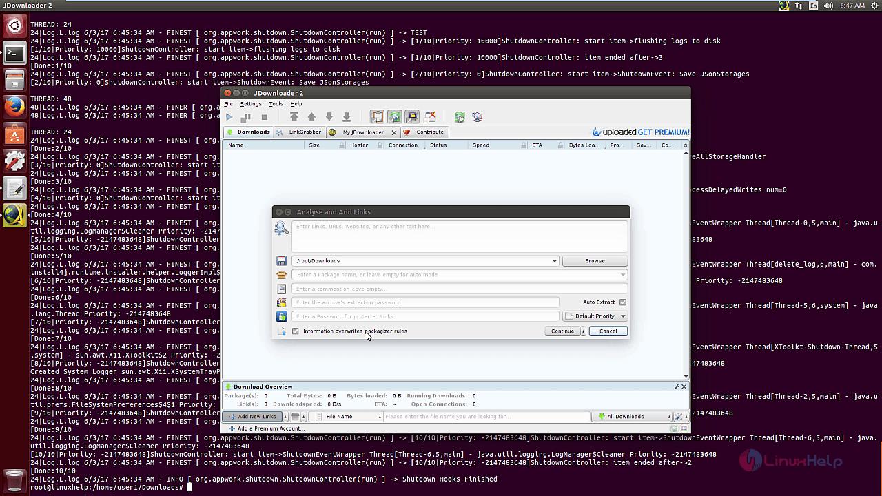 How to install JDownloader in Ubuntu | LinuxHelp Tutorials