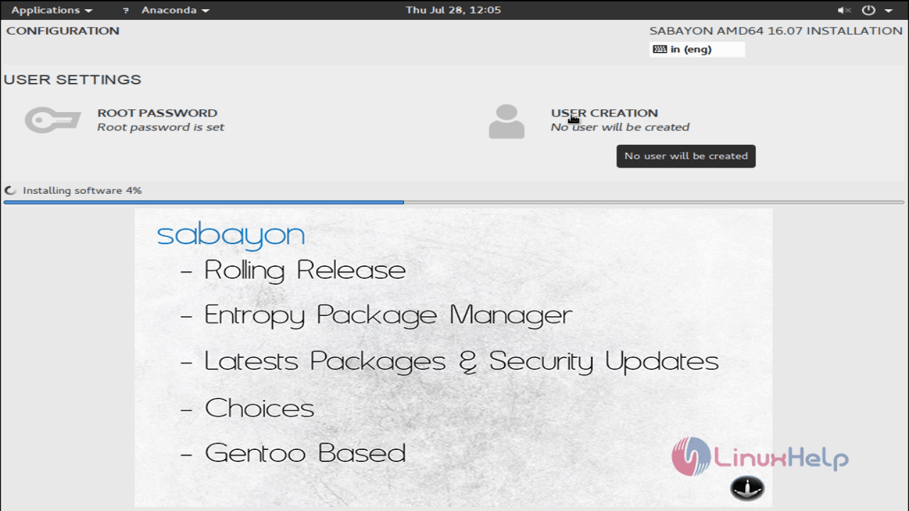 install_sabayon_Desktop10.07_new_user