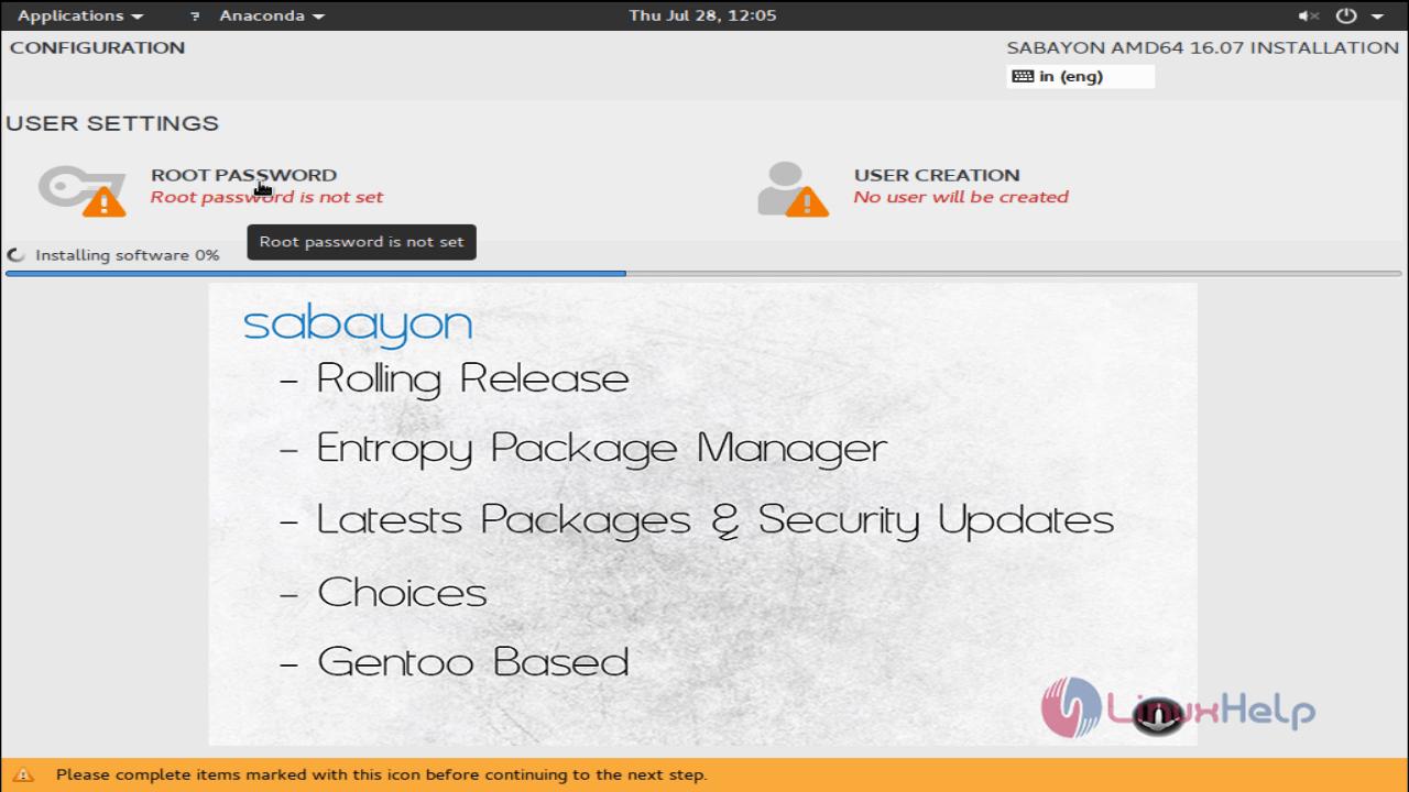 install_sabayon_Desktop10.07_root_pass