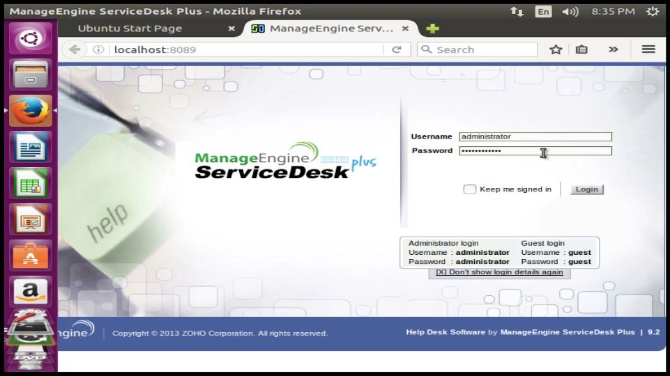 How to install ManageEngine ServiceDesk Plus in Ubuntu | LinuxHelp