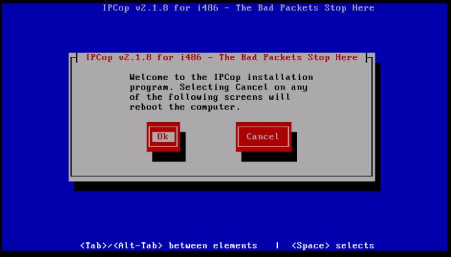 Installation-IPCop-manages-firewall-appliance-Linux-net-filter-framework-installation