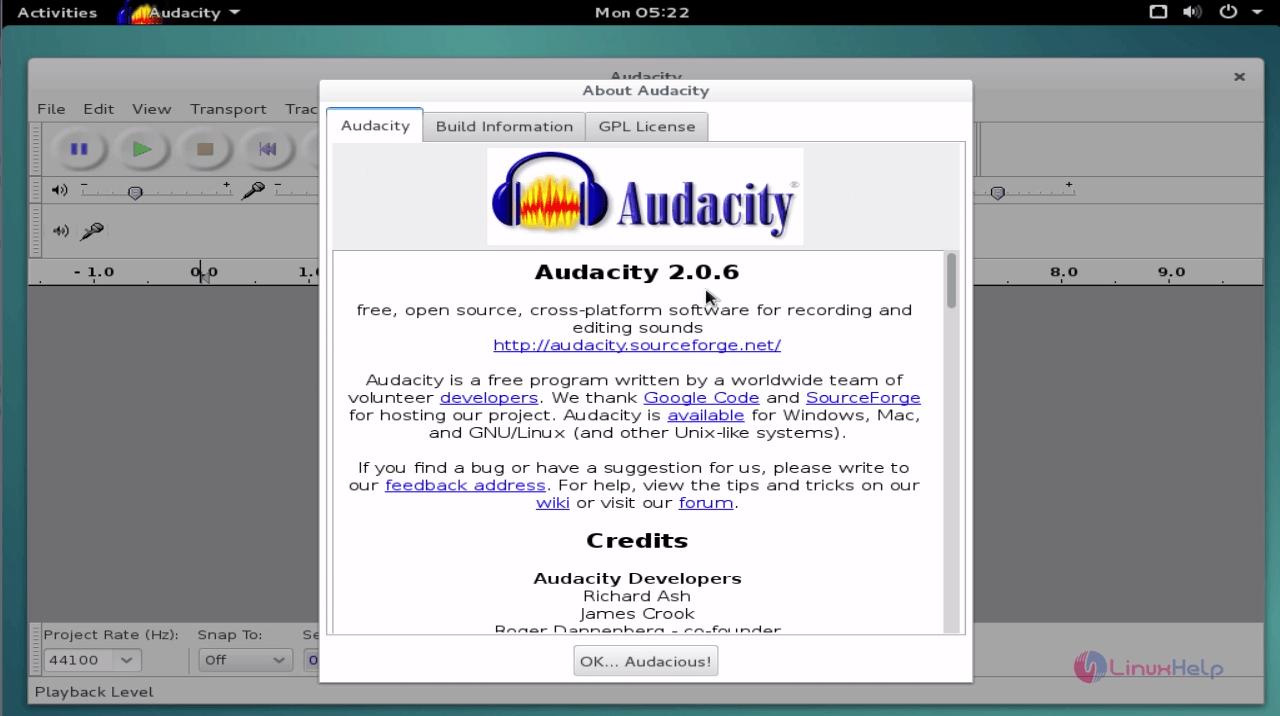 How to install Audacity on Debian 8 3 | LinuxHelp Tutorials