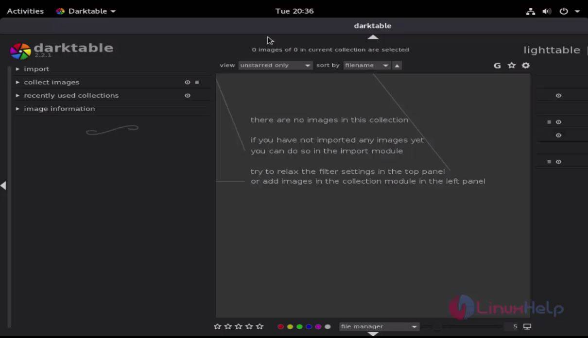 How To Install Darktable on Debian 9 0   LinuxHelp Tutorials