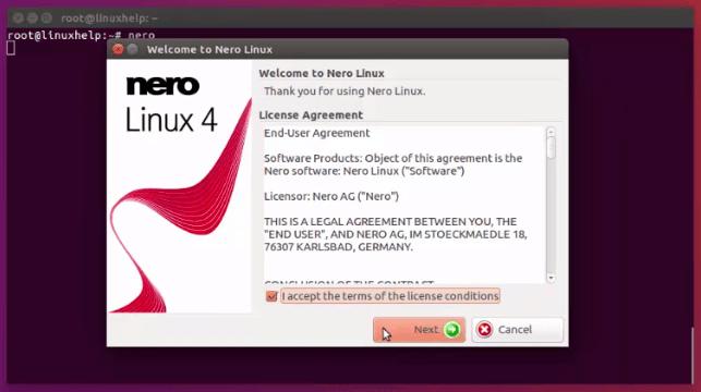 How to install nero on Ubuntu 16 04 | LinuxHelp Tutorials