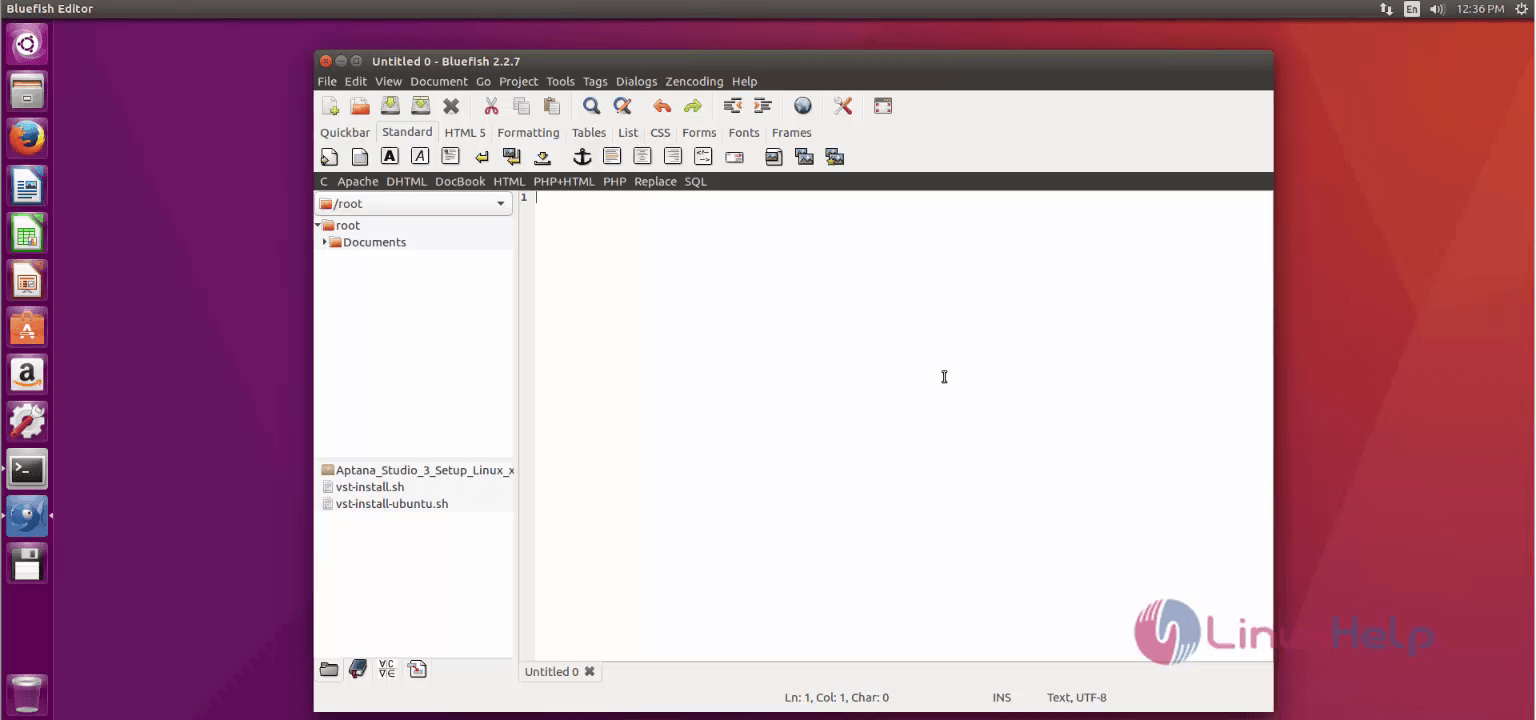 How to install Bluefish Editor on Ubuntu   LinuxHelp Tutorials
