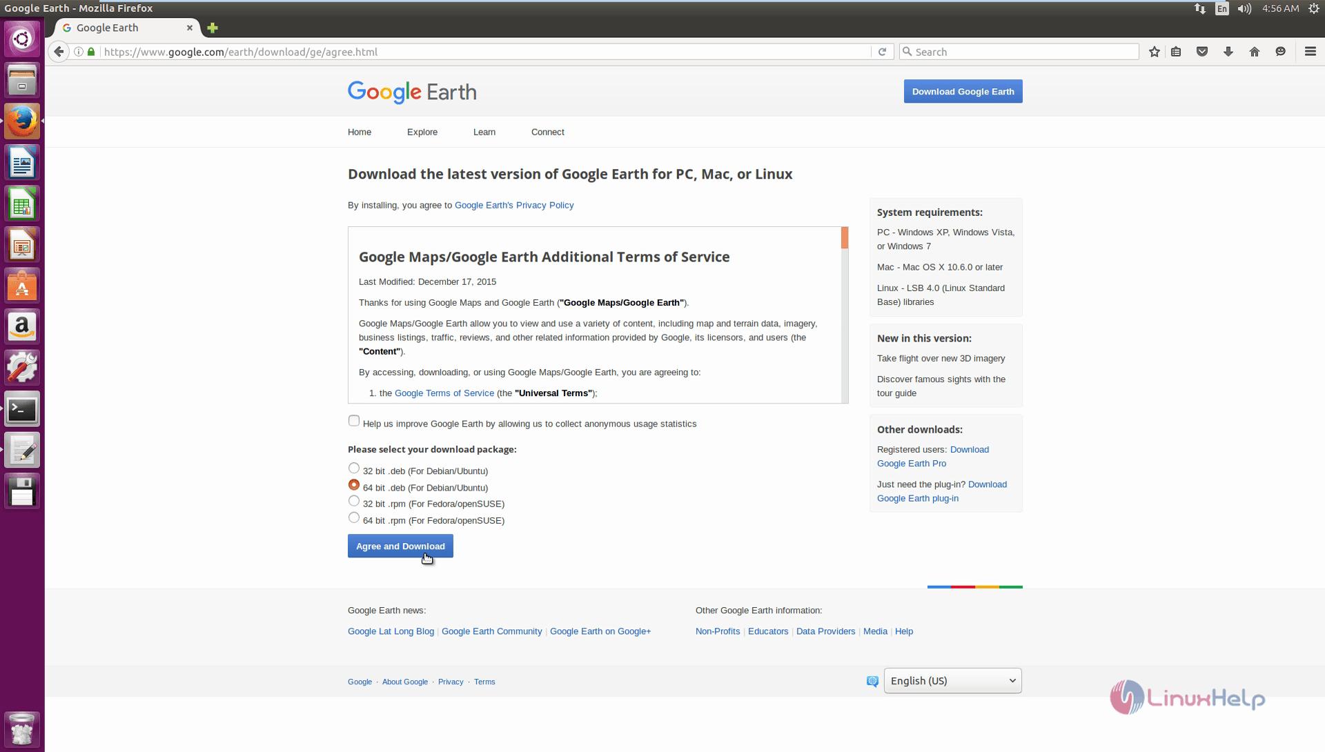Installation_Google_Earth_Ubuntu16.04_