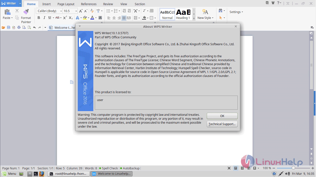How to install WPS office-10 1 0 on Linux mint – 18 3