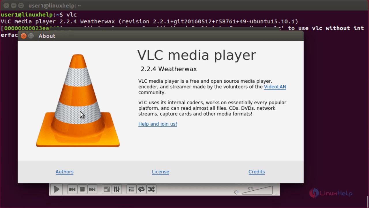 How to Install VLC 2 2 4 on Ubuntu   LinuxHelp Tutorials