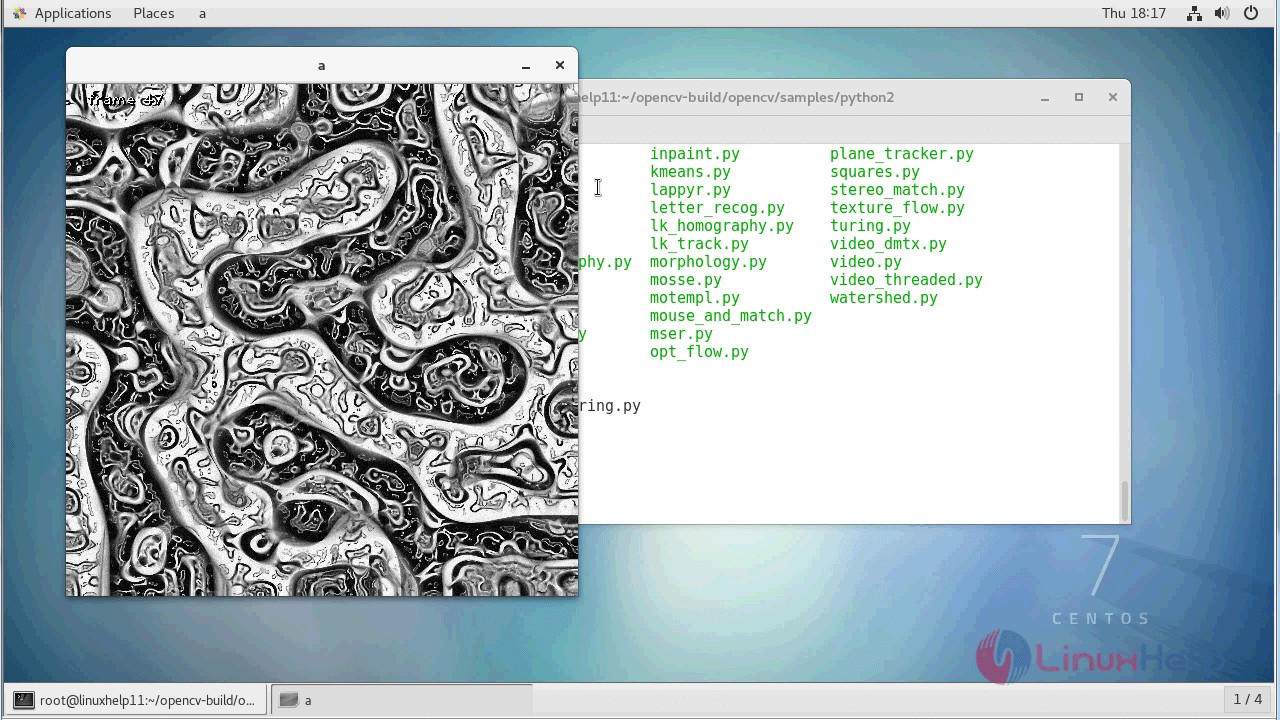 How to install OpenCV with python on CentOS7 | LinuxHelp
