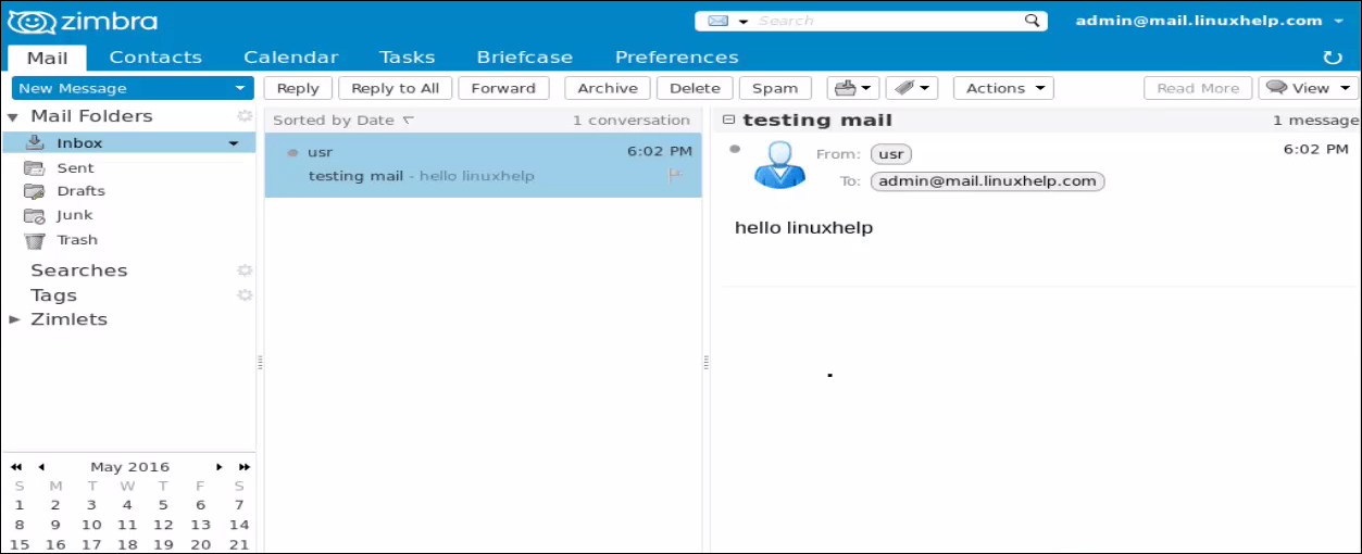 How to install and configure Zimbra mail server | LinuxHelp
