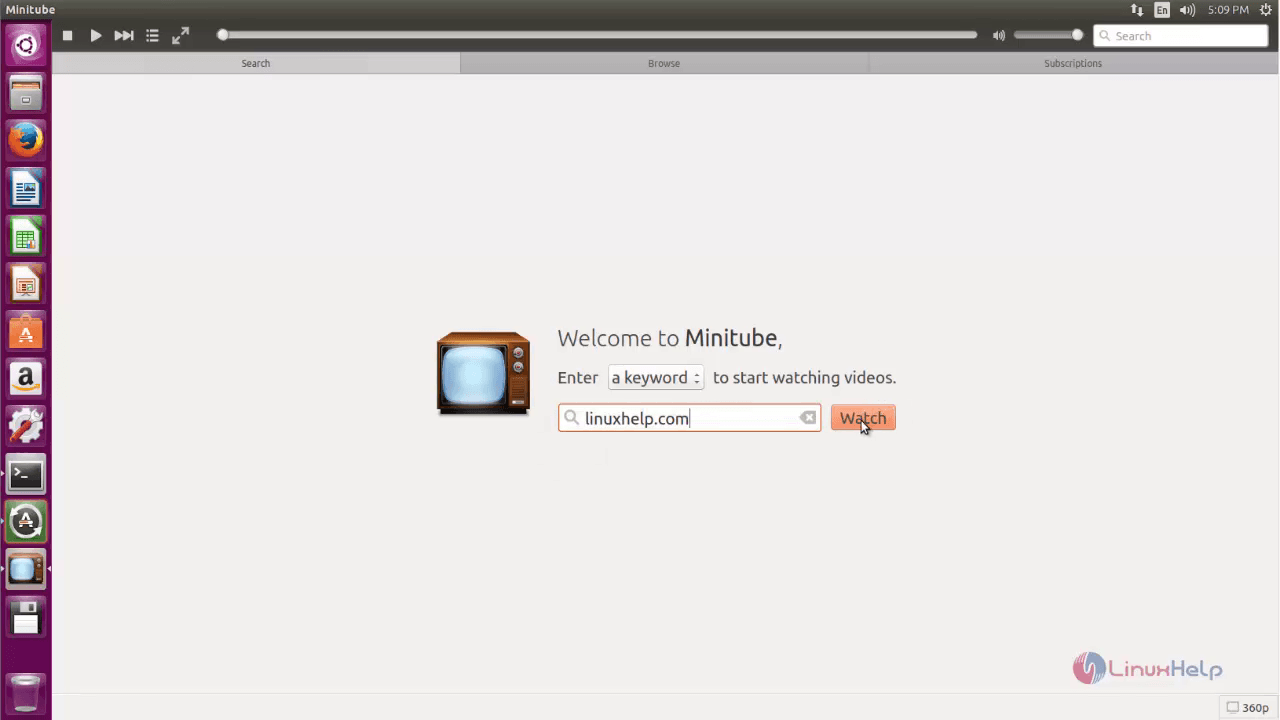 How to install Minitube in Ubuntu | LinuxHelp Tutorials