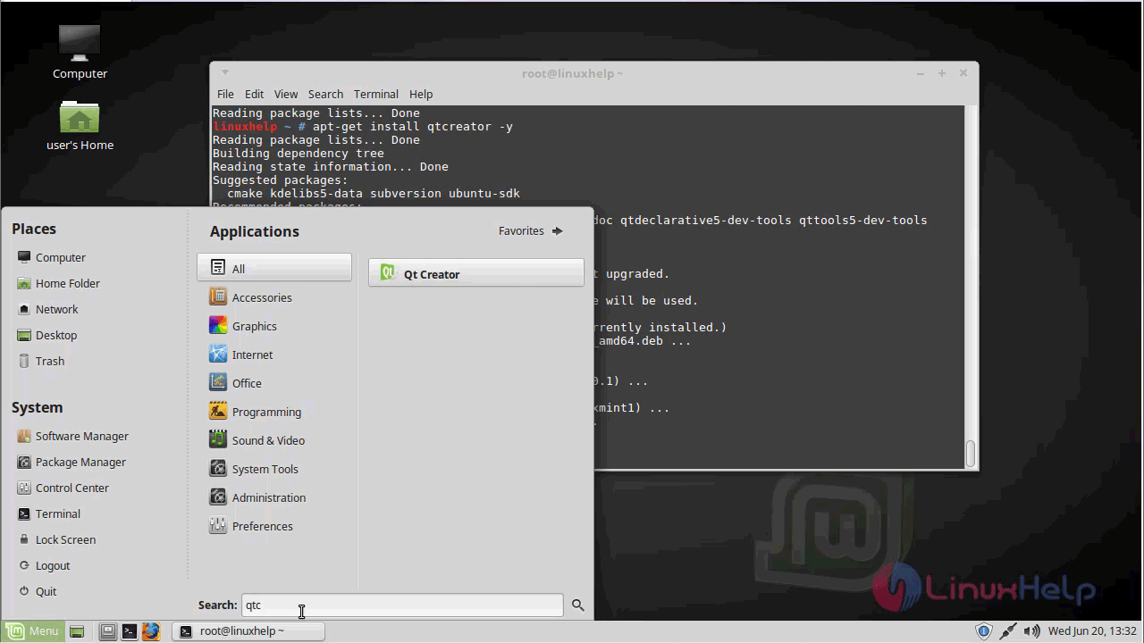 How to install QT creator on linuxmint-18 03 | LinuxHelp