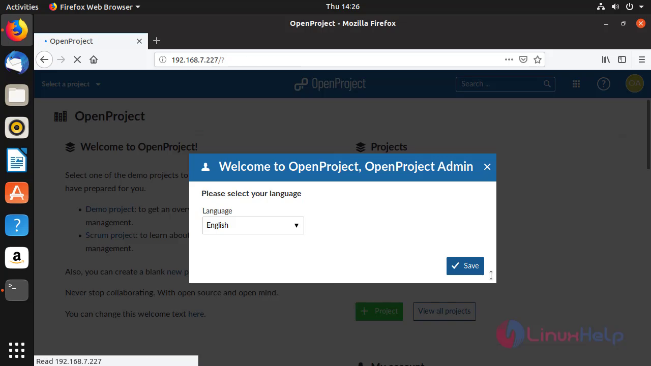 How to Install Openproject 8 3 2 on Ubuntu 18 10 | LinuxHelp