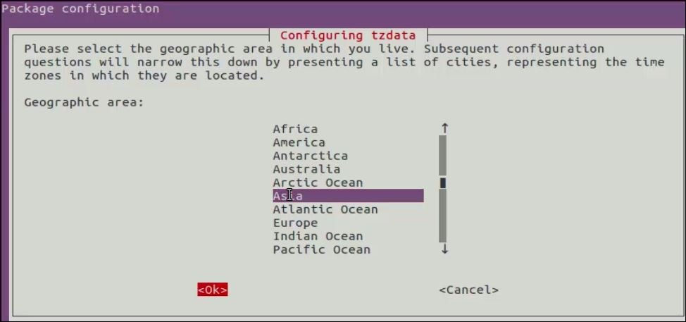 Check-and-Set-Timezone-continent