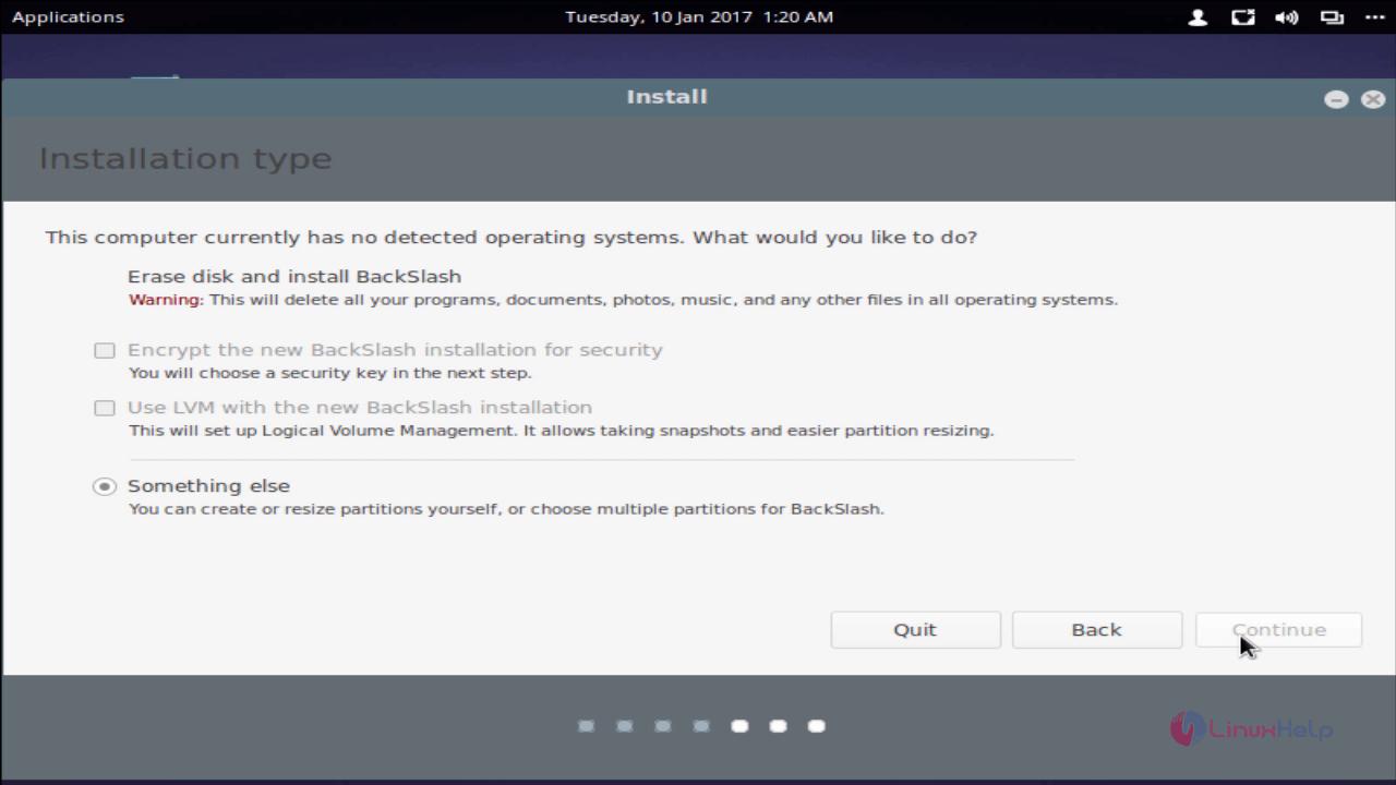 backslash_installation_type