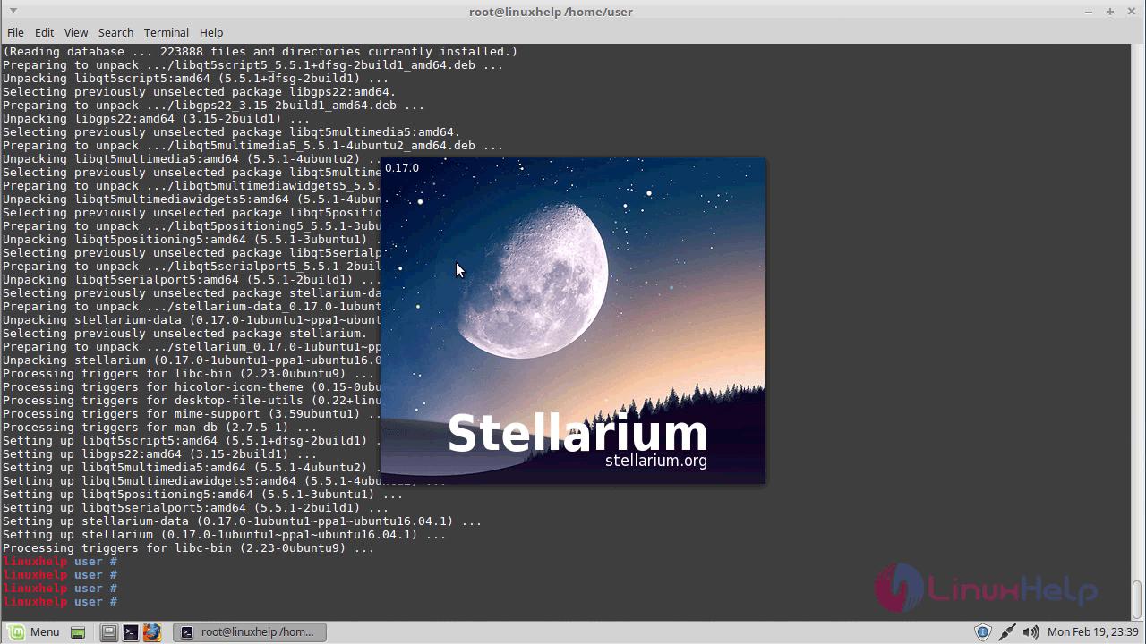 How To Install Stellarium on Linux Mint 18 3 | LinuxHelp